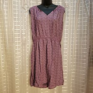 Loft Casual Dress Purple size XL